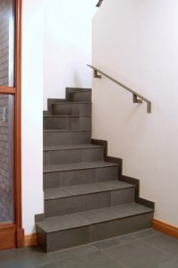 view of a staircase